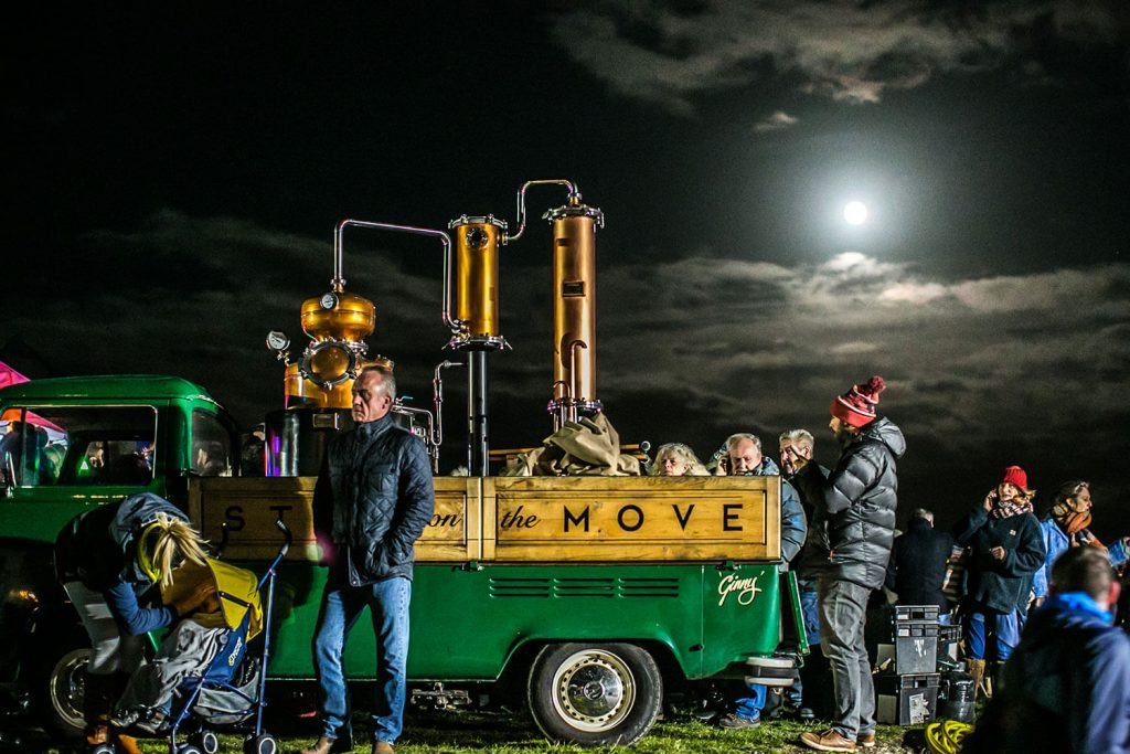 Still on the Move Gin Distillery at Fireworks Night 2018